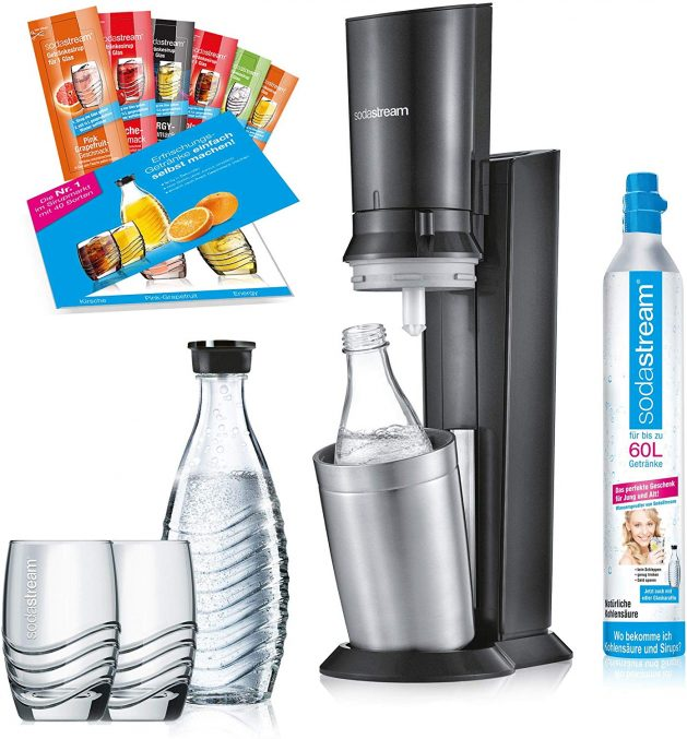 [Black Friday 2019] Le promopack Titan Sodastream Crystal 2.0 à 155€95 seulement !