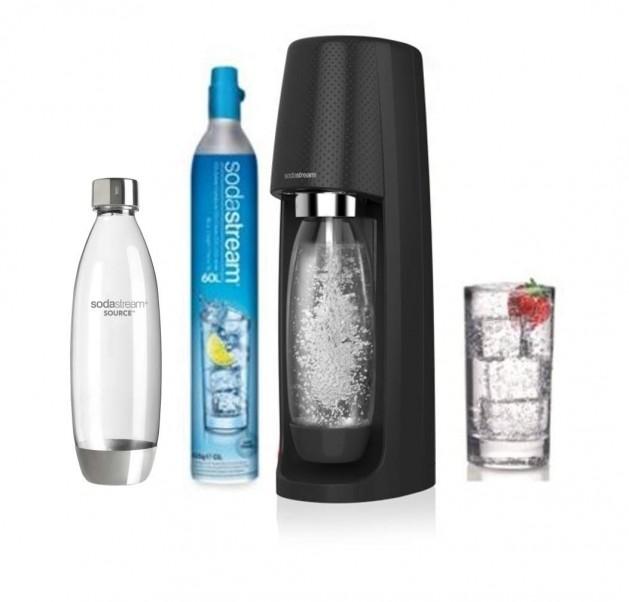 Pack Sodastream Spirit + bouteille Fuse en promotion
