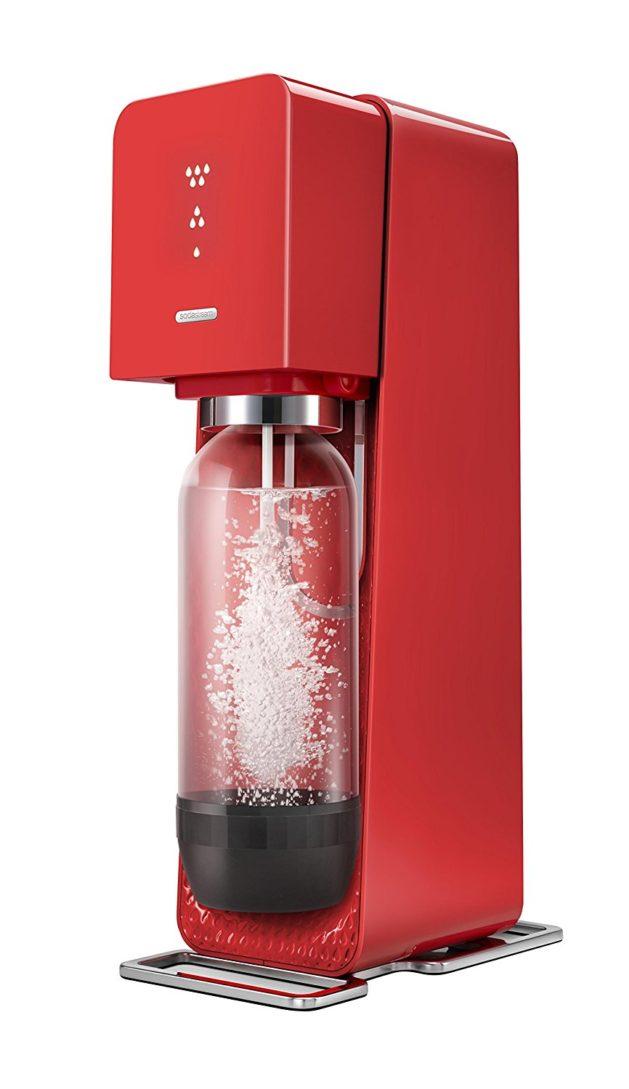 Promotion : la Sodastream Source rouge à moitié prix