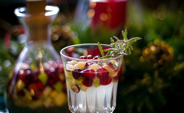 Sangria blanche (sans alcool)